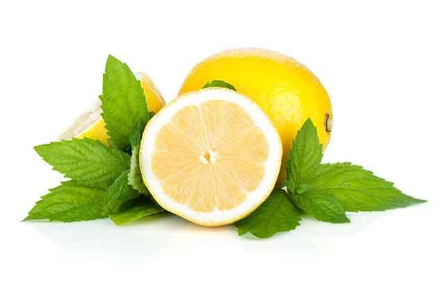 Lemon and Mint for Acne