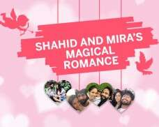 Shahid and Mira's magical romance