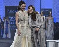 Neha Agarwal and Soha Ali Khan at LFW SR'19