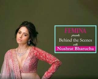 Nushrat Bharucha turns into the sassy Indian bride in this BTS video