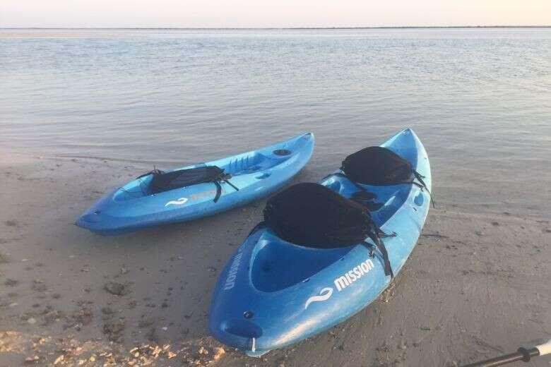 Qatar-kayaking