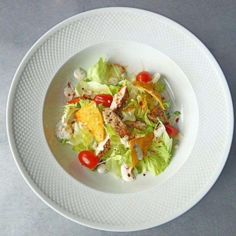 Blackened Chicken And Tortilla Chip Salad.jpg