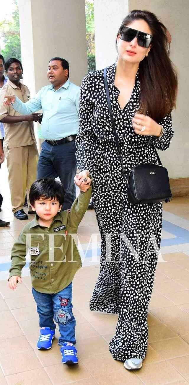 Taimur and Kareena Kapoor Khan - 2