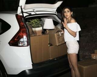 Spotted: Sara Ali Khan moves out of her mom's