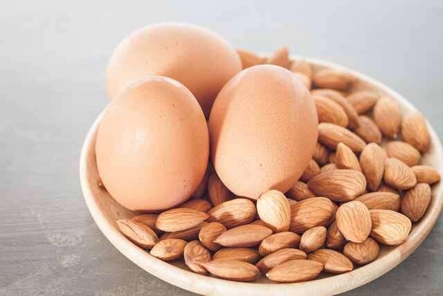 Almond Oil & Egg