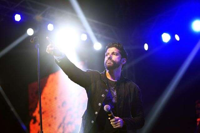 Farhan Akhtar performs at .FEST