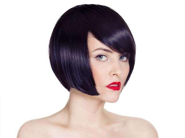 Hairstyles for Straight Hair - Asymmetric Bob