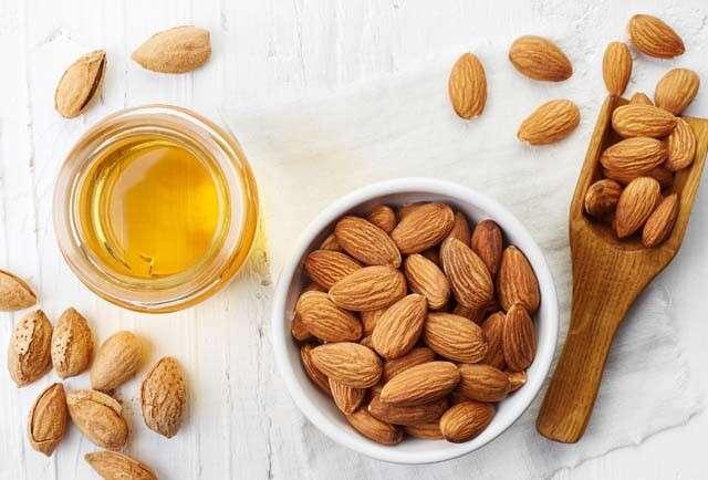 Health Benefits of Almonds for Hair - Almond CAstor Oil Scalp Scrub