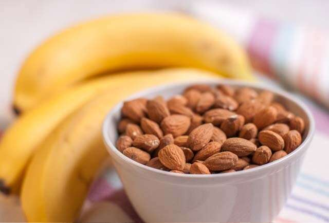 Health Benefits of Almonds for Hair Care - Banana Honey Almond Oil Hair Mask
