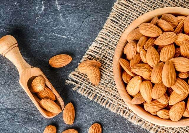 Health Benefits of almonds for Hair Contain