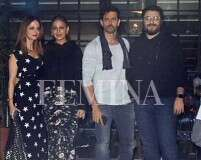 Hrithik Roshan's spends birthday with family and friends
