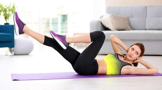 How to Rid of Love Handles by Oblique Workout