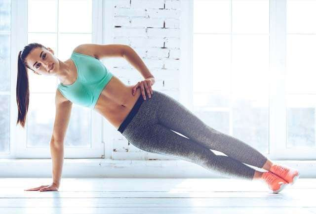 How to Rid of Love Handles by starting Planks