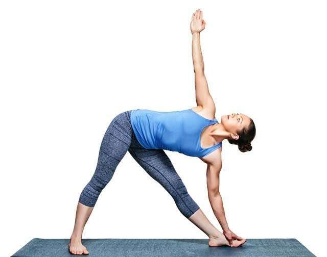 How to Rid of Love Handles by Yoga