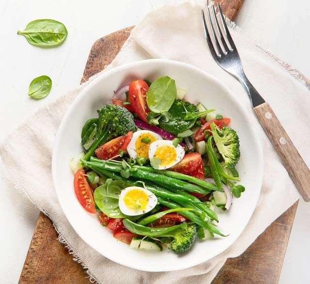 Eggs for Hair - Egg Nicoise Salad