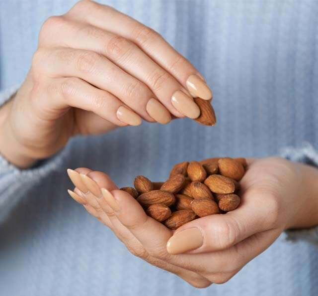 Health Benefits of almonds for Hair Loss