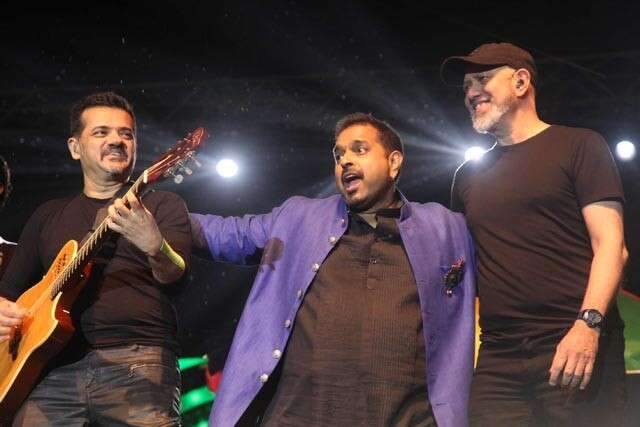 Shankar, Ehsan and Loy perform at .FEST