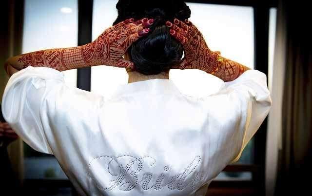 Right Indian Wedding Hairstyle like Sleek Bun