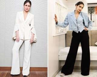 How to style wide-leg and palazzo pants like celebs
