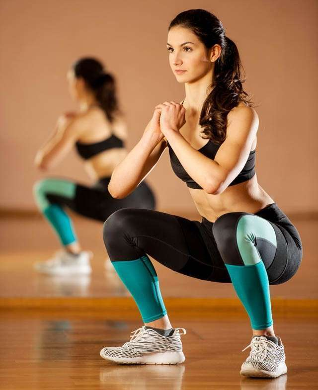 Squats - How to Reduce Thigh Fat
