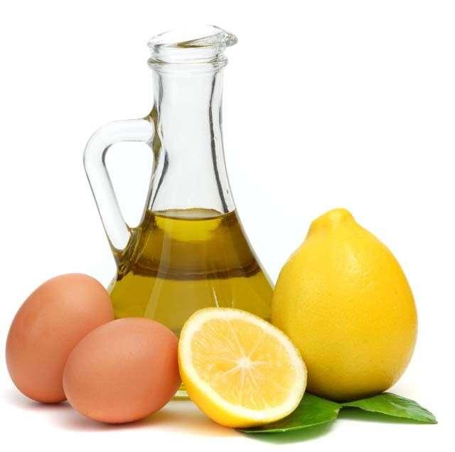 The Health Benefits of Almonds for Hair - Egg Almond Oil Lemon Juice Hair Pack