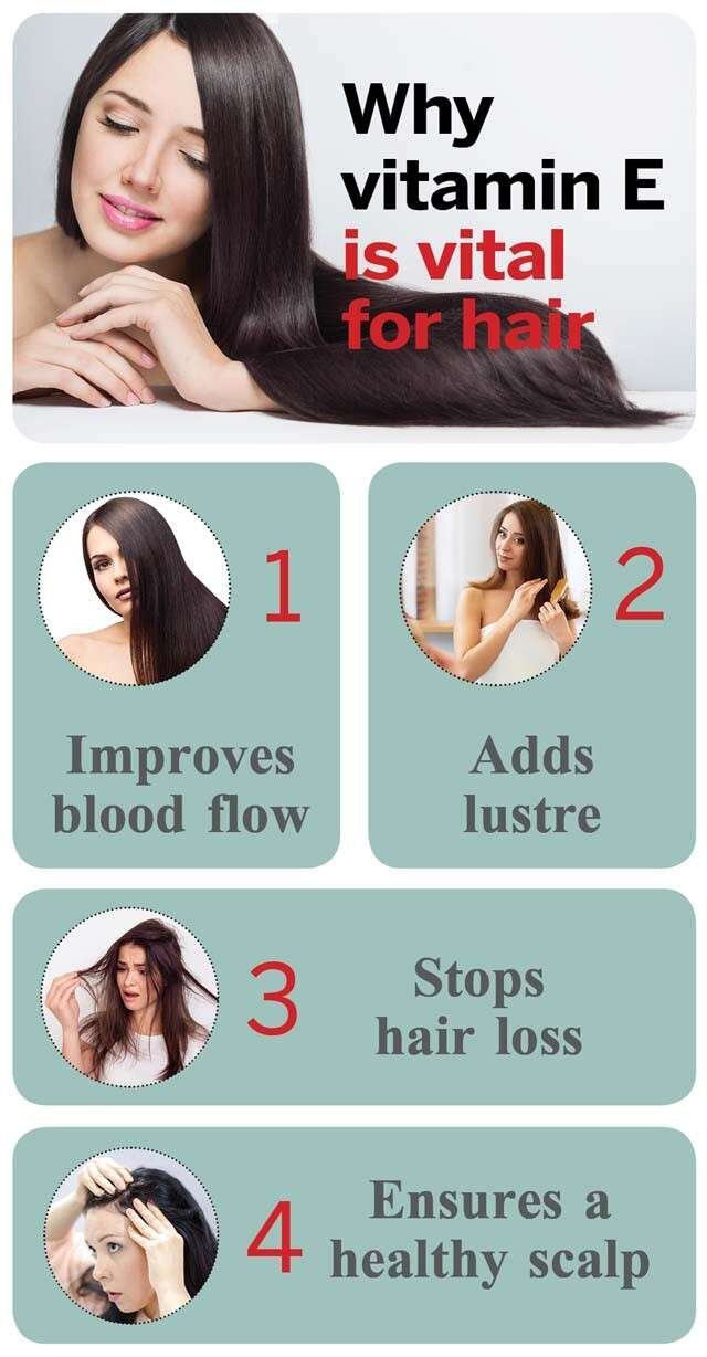 How Vitamin E For Hair Can Boost Your Hair Health Femina In