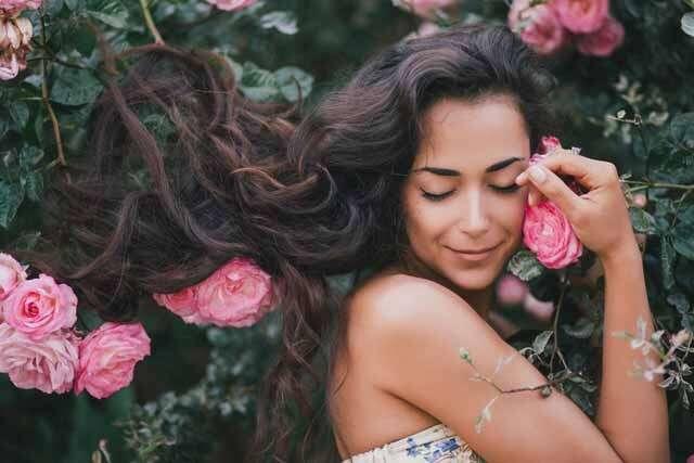 شعر المرأة