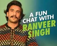 A fun chat with Ranveer Singh