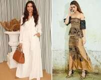 Best-dressed celebrities: Deepika Padukone and Kriti Sanon