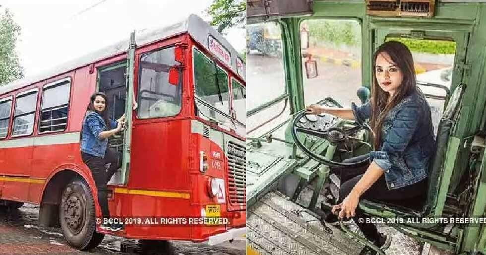 Meet Pratiksha Das, Mumbai's first female bus driver