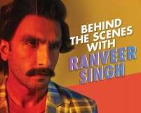 Lights, camera and madness with Ranveer Singh in this BTS video