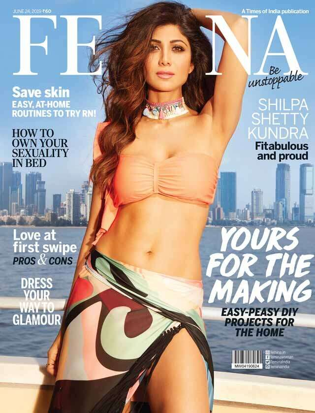 Fitabulous and proud, Shilpa Shetty Kundra slays on Femina