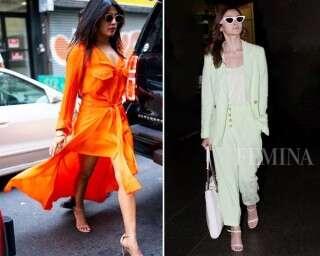 Best-dressed celebs: Priyanka Chopra Jonas and Alia Bhatt
