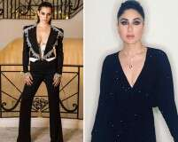 These celebs look fierce in black outfits