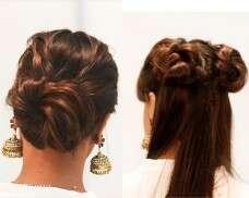 5 minute messy bun hairstyles