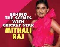 Behind the scenes with cricket star Mithali Raj