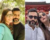 Sonam Kapoor Ahuja and Anand Ahuja travel to Japan