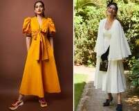 Style a midi dress with some inspo from Sonam Kapoor Ahuja