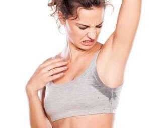 5 ways to sweat less