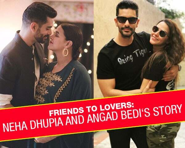 Friends to lovers: Neha Dhupia and Angad Bedi's story