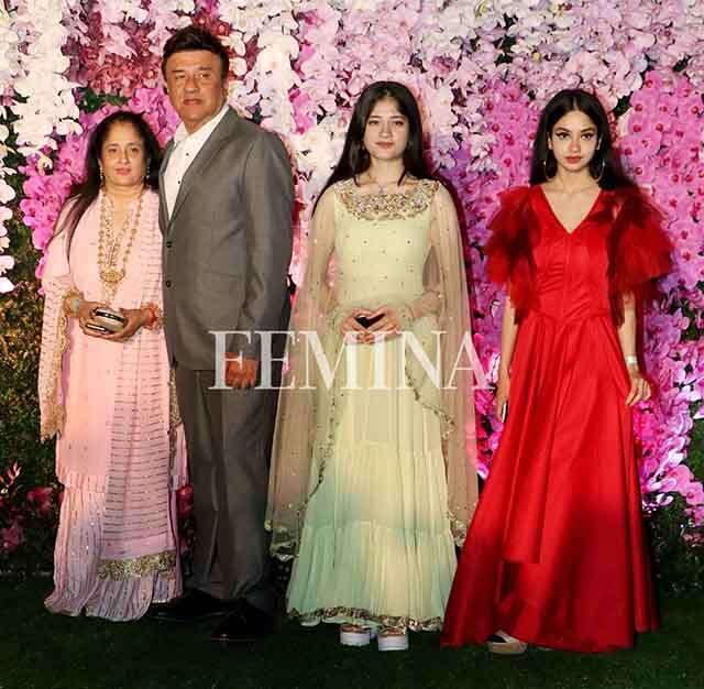 Anu Malik with family