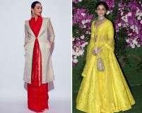 Best-dressed celebrities: Karisma Kapoor and Alia Bhatt