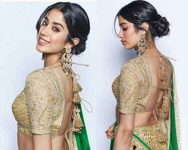 Image result for Get Janhvi Kapoor's traditional beauty look
