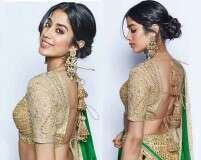 Get Janhvi Kapoor's traditional beauty look