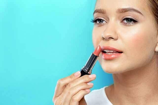 Nude lipstick for fair skin