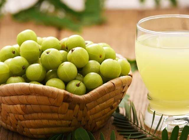 Apply Amla Juice Over The Scalp To Control Hair Fall