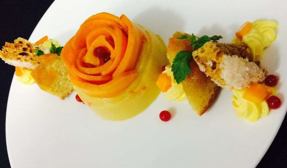 Summer Mango Pudding - Academy of Pastry Arts