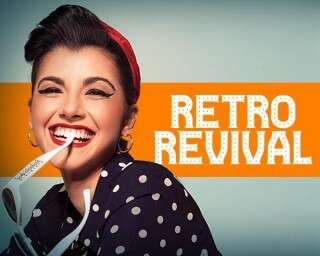 How to flaunt the retro look