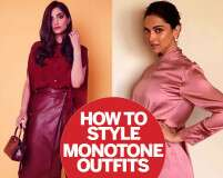 How to style monotone outfits