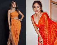 Orange is the new red for pre-wedding festivities